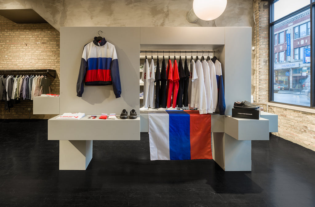 Gosha Rubchinskiy Concept Shop at Notre Chicago