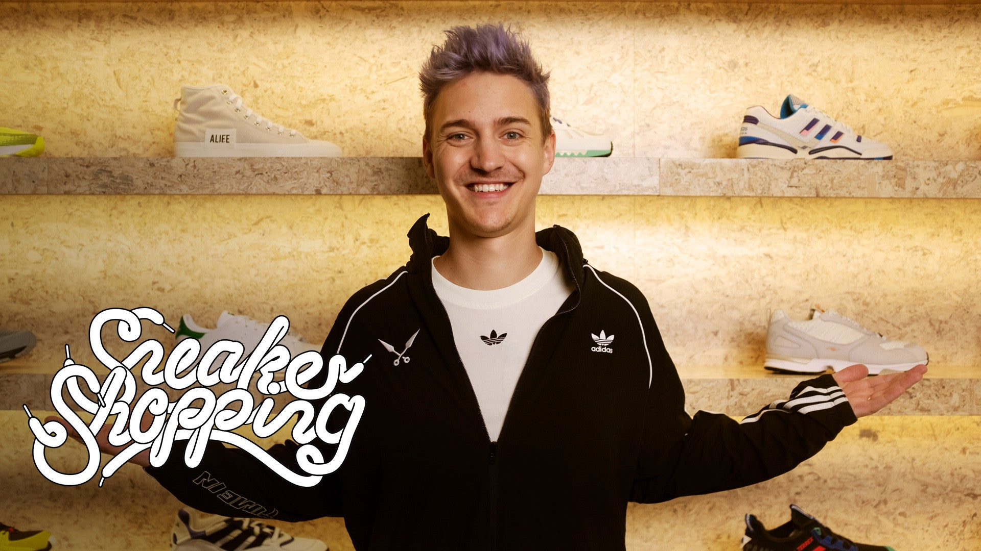 "Ninja Goes ""Sneaker Shopping"" With Complex 1"