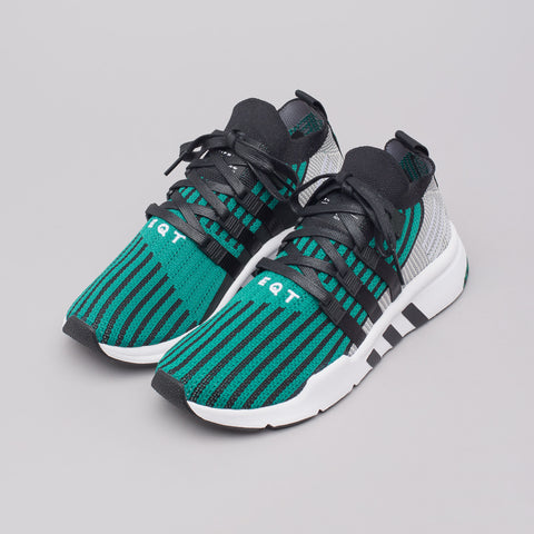 adidas EQT Support Mid ADV in Core Black/Sub Green - Notre
