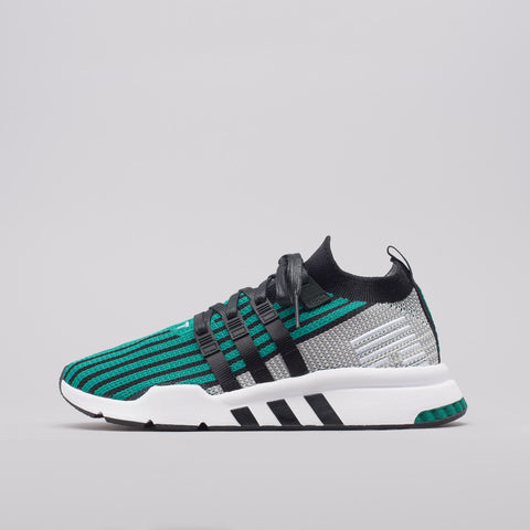 adidas EQT Support Mid ADV in Core Black/Green - Notre