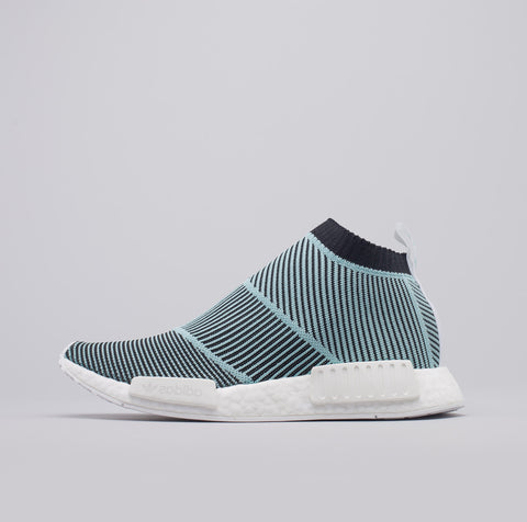 NMD CS1 Parley Primeknit in Core Black/Blue