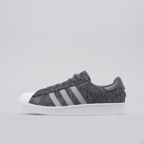 Adidas x White Mountaineering Superstar in Core Black/Grey - Notre