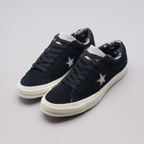 Converse One Star Ox in Black/Egret - Notre