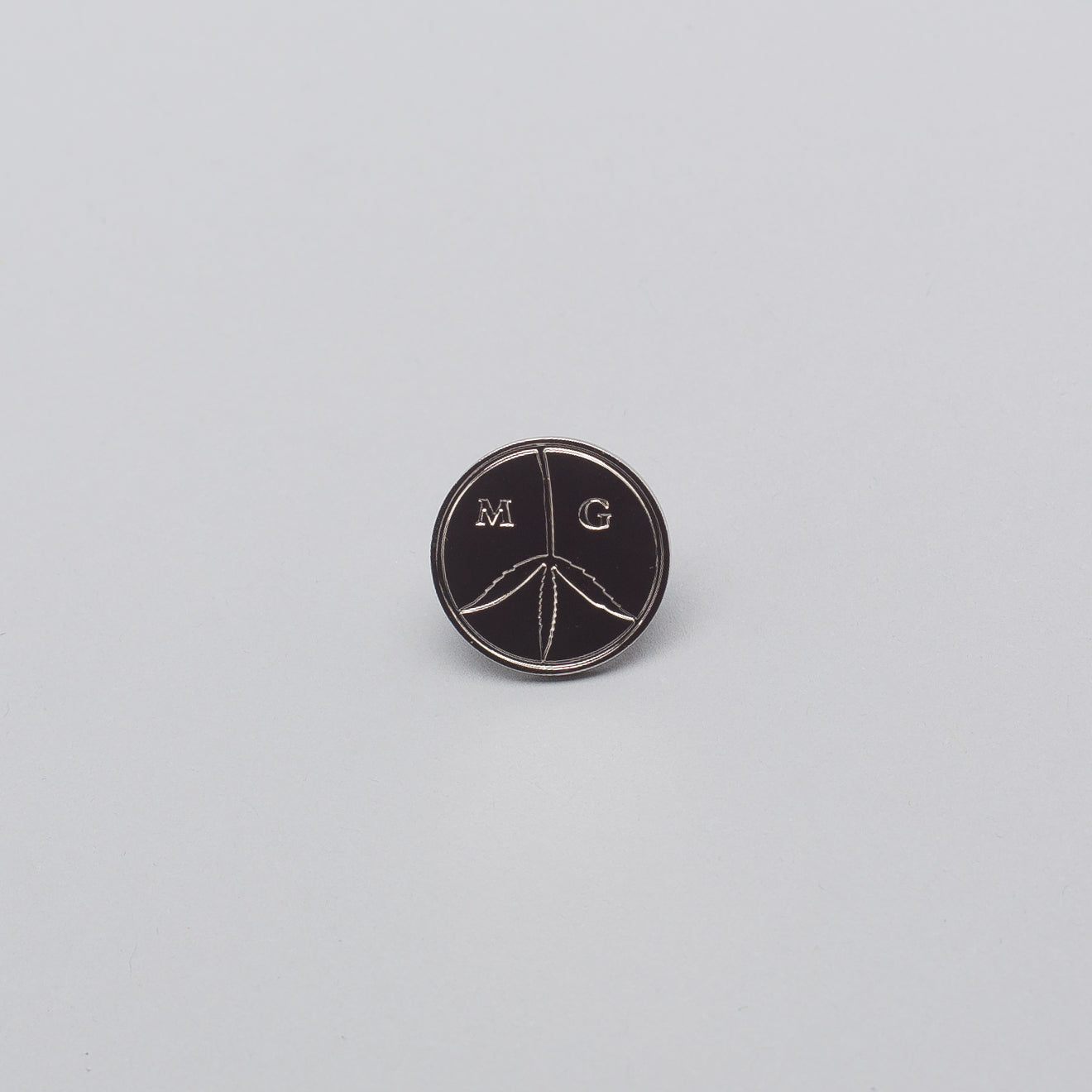 Peace Pin in Silver