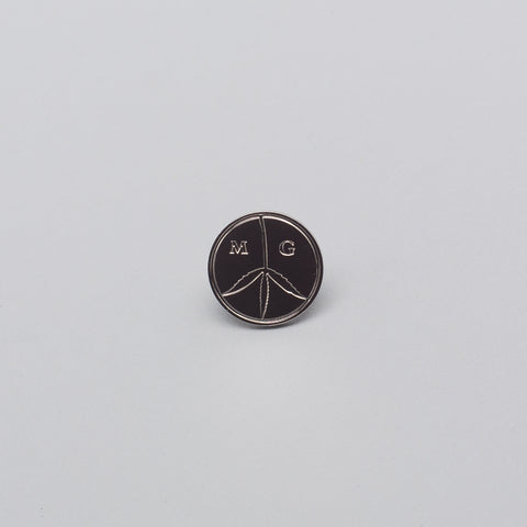 Mister Green Peace Pin in Silver - Notre