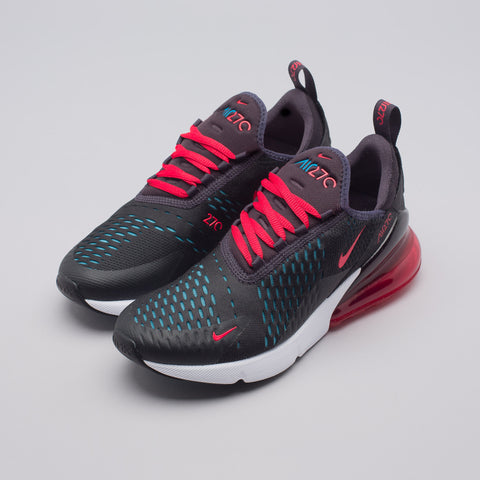 Nike Women's Air Max 270 in Oil Grey/Speed Red - Notre