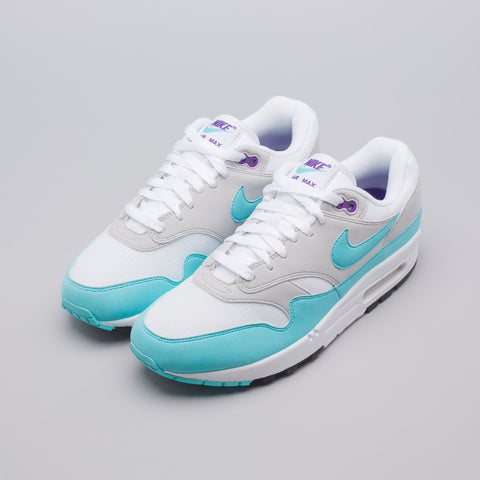 Nike Air Max 1 Anniversary in Grey/Aqua - Notre