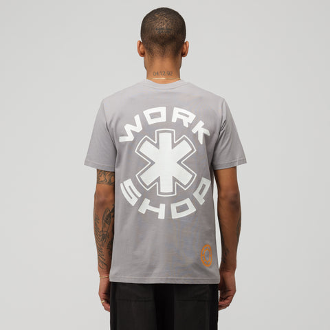032C COSMIC WORKSHOP Gear T-Shirt in Grey - Notre