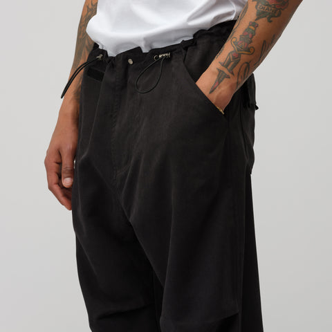 "032C COSMIC WORKSHOP ""Rave"" Pant in Black - Notre"