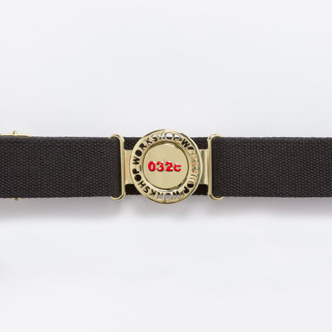 032C Brooch Belt in Black - Notre