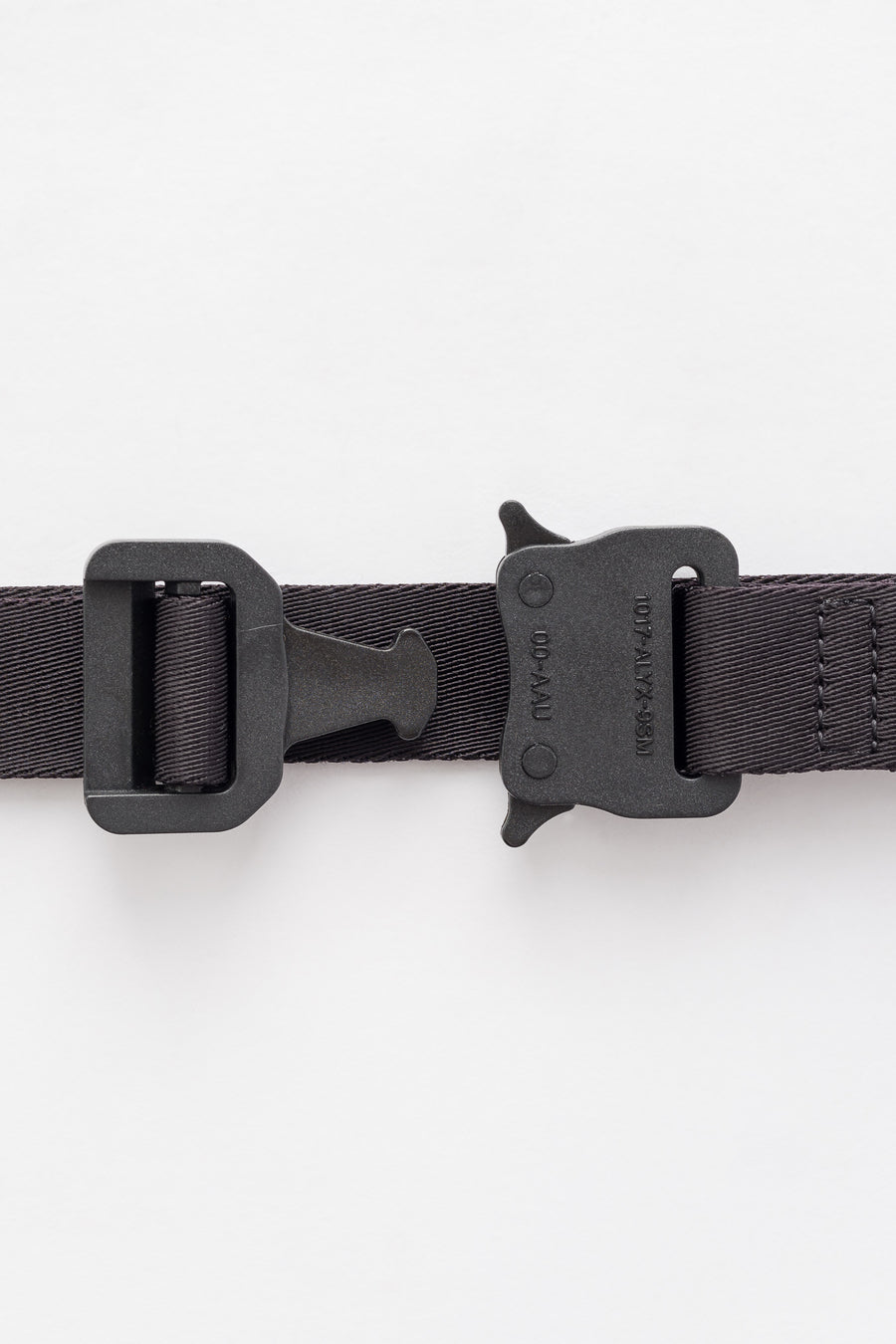 1017 ALYX 9SM Medium Rollercoaster Belt in Black - Notre