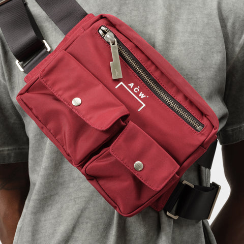 A-COLD-WALL* Abdomen Bag in Wine - Notre