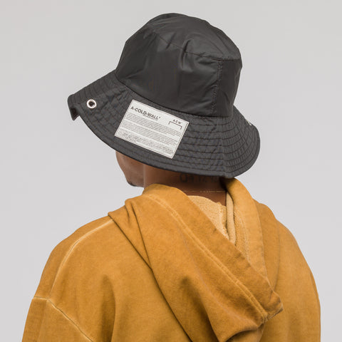 A-COLD-WALL* Satin Bucket Hat in Black - Notre