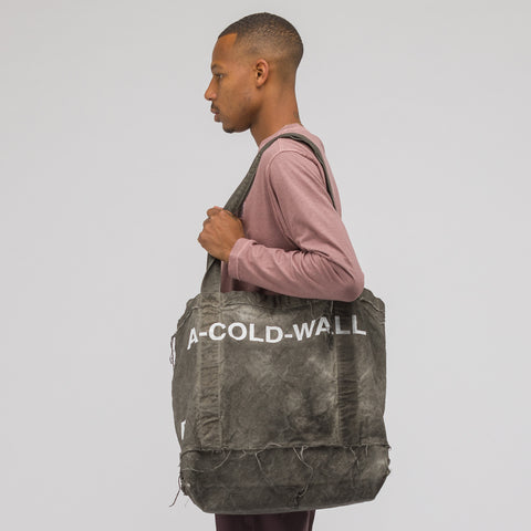 A-COLD-WALL* Canvas Tote Bag in Slate - Notre