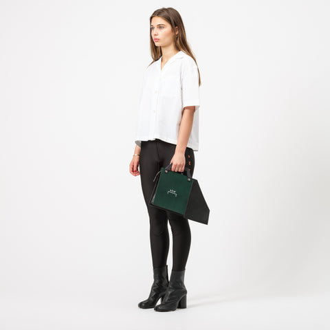 A-COLD-WALL* Contrast Anvil Bag in Black - Notre