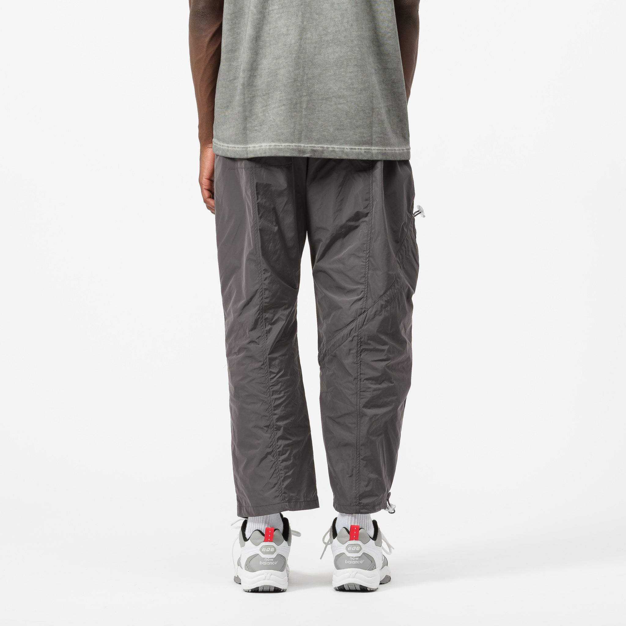 Diagonal Tie Trouser in Grey