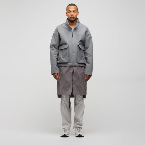 x A-COLD-WALL* Jacket in Cool Grey/Gunsmoke