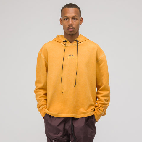 A-COLD-WALL* ACW Logo Hoodie in Mustard - Notre