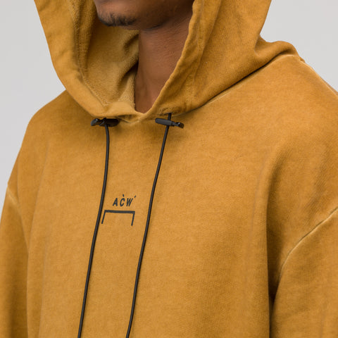 A-COLD-WALL* ACW Logo Hoodie in Rust - Notre