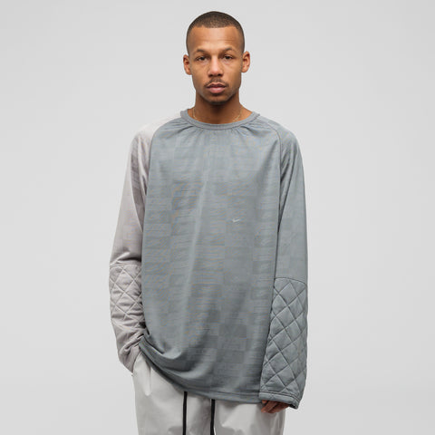 Nike x A-COLD-WALL* Long Sleeve Top in Cool Grey - Notre