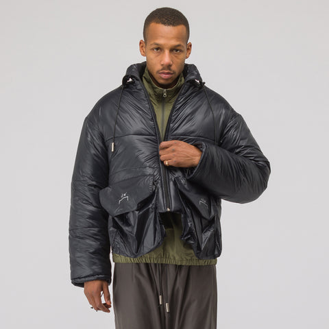 A-COLD-WALL* Oversized Pocket Puffer Jacket in Black - Notre