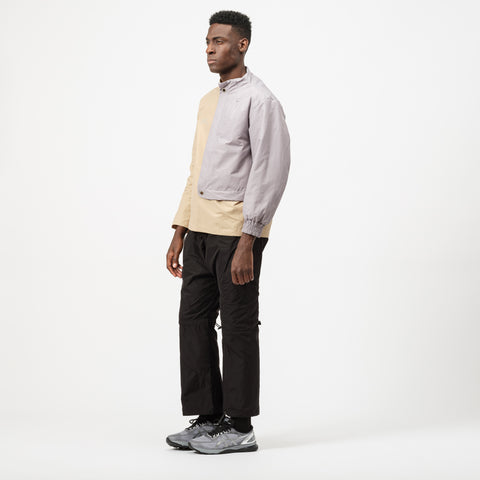 A-COLD-WALL* Padded Paneled Crewneck Jacket in Beige - Notre
