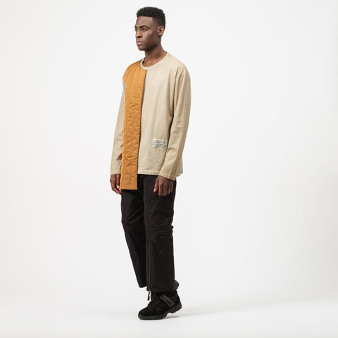 A-COLD-WALL* Padding T-Shirt in Khaki/Beige - Notre