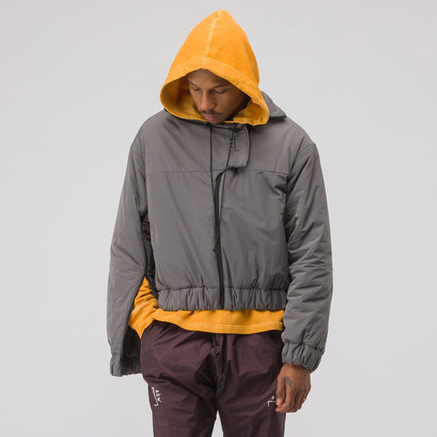 A-COLD-WALL* Puffer Coat with Back Pocket in Slate - Notre