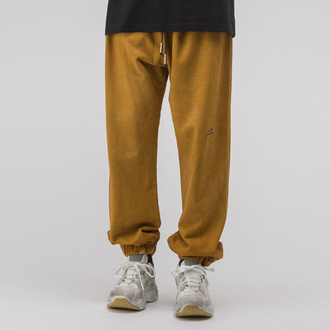 A-COLD-WALL* Cotton Track Pants in Rust - Notre