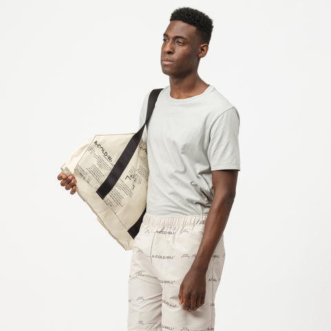 A-COLD-WALL* V2 Tote Bag in Natural - Notre