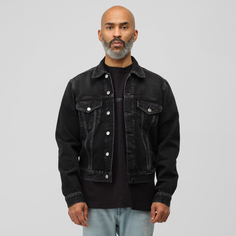 Acne Studios 1996 Denim Jacket in Used Black - Notre