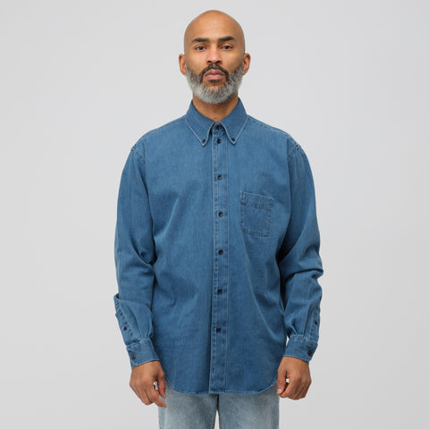 Acne Studios Seiji Shirt in Dark Blue - Notre