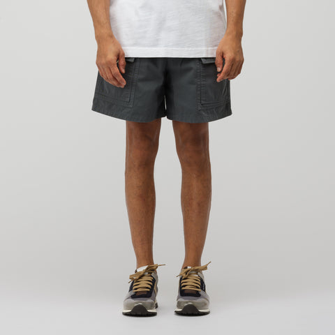 Acne Studios Rosso Shorts in Anthracite Grey - Notre