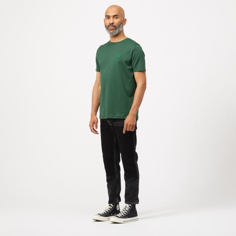 Acne Studios Ellison T -Shirt in Dark Green - Notre