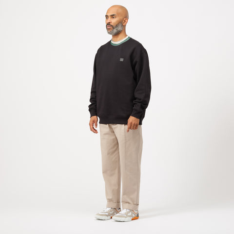 Acne Studios Folsom Crewneck in Black - Notre