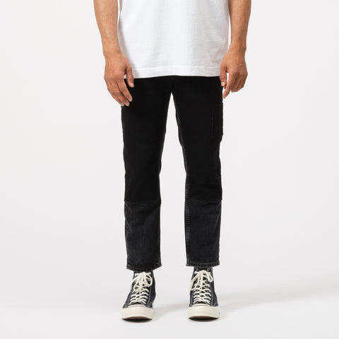 Acne Studios River Black Patch Jeans in Black - Notre