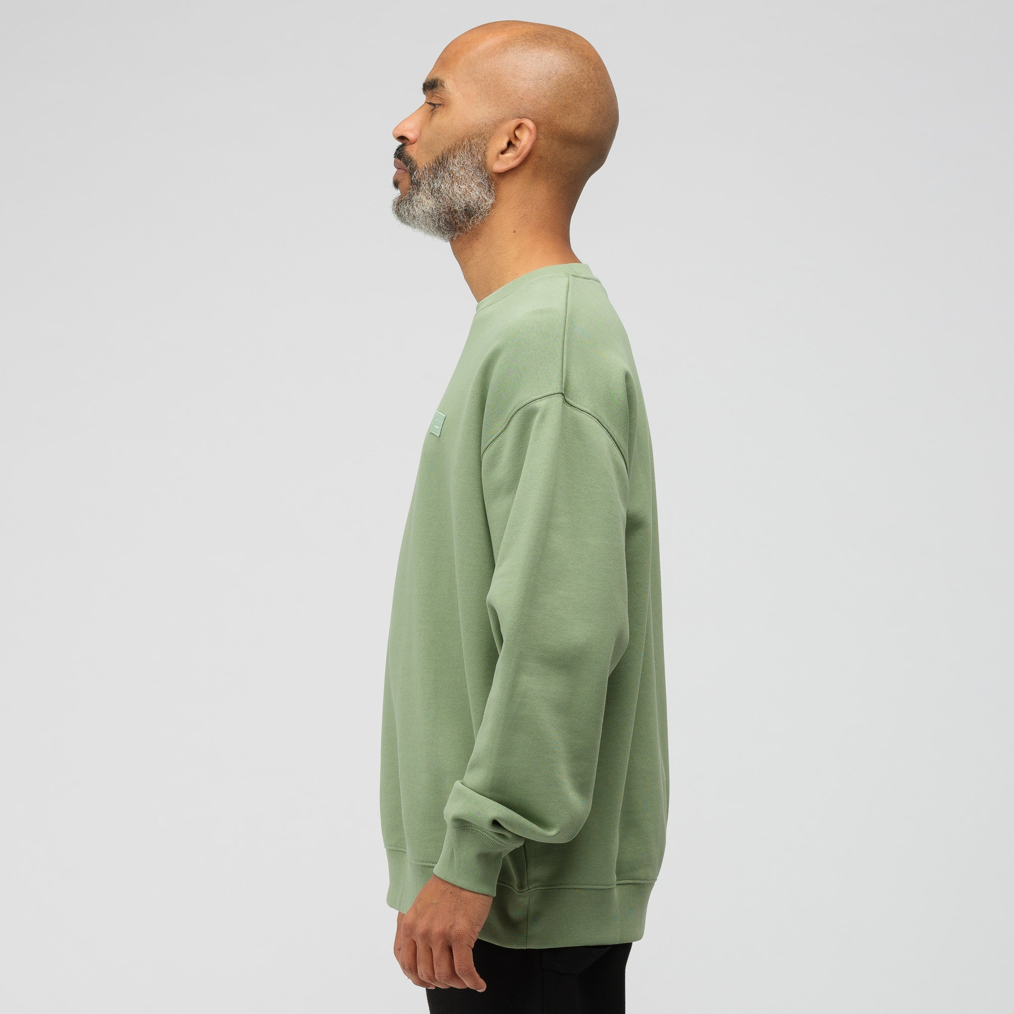 Crewneck Sweatshirt in Dusty Green