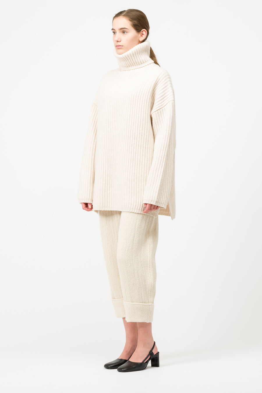 Acne Studios LX2 New Disa Sweater in Off White - Notre