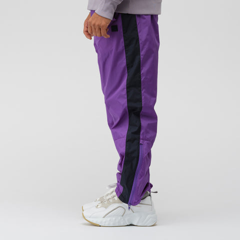 Acne Studios Track Pant in Violet Purple - Notre