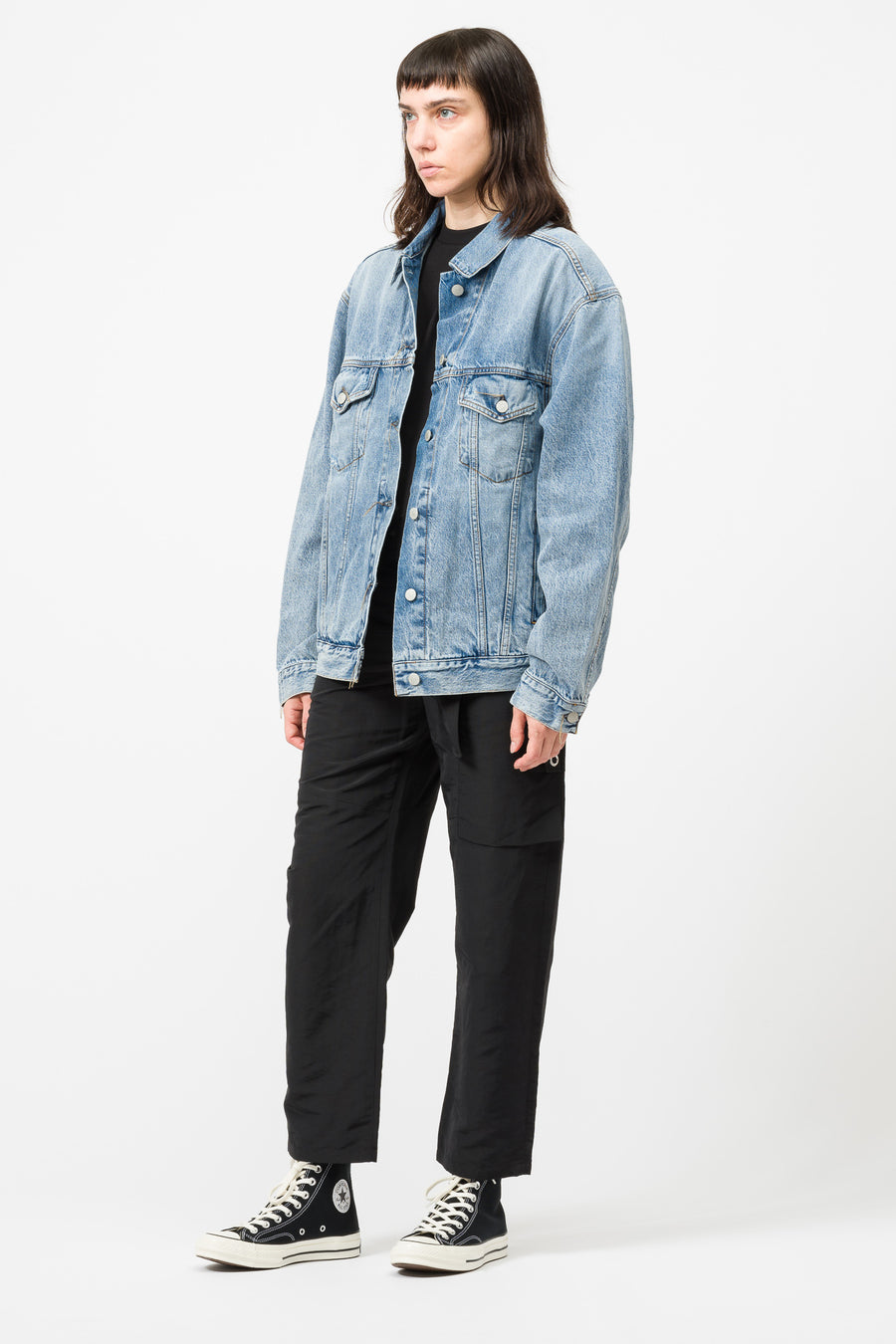 Acne Studios 2000 Trash Jacket in Light Blue - Notre