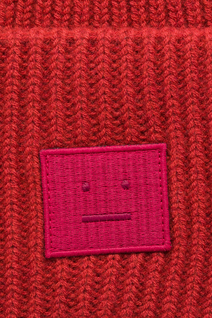 Acne Studios Pansy N Face Hat in Brick Red - Notre