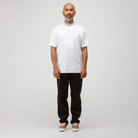 Acne Studios Navid T-Shirt in Optic White - Notre