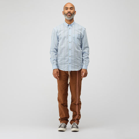 Acne Studios Sarkis Button Down in Pale Blue/Green - Notre