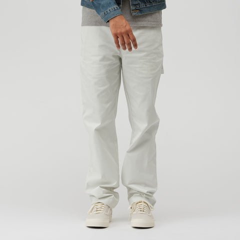 Acne Studios Carpenter Pants in Cold White - Notre