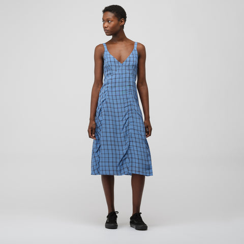 Acne Studios Darcie Liquid Dress in Indigo - Notre