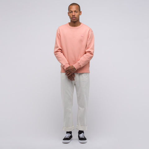 Acne Studios Fairview Face Crewneck in Pale Pink - Notre