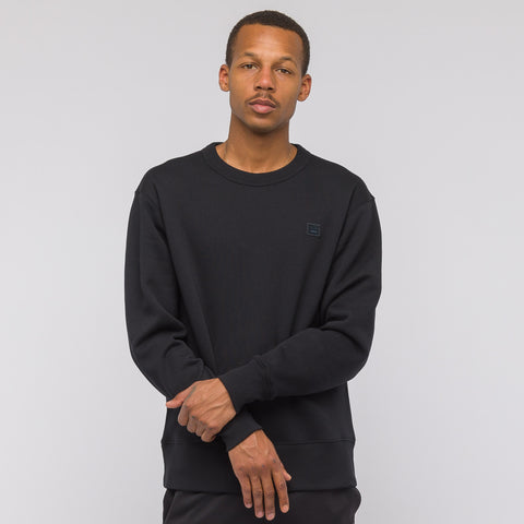 Acne Studios Fairview Face Sweatshirt in Black - Notre