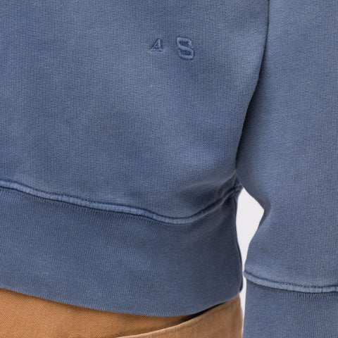 Acne Studios Fate Sweatshirt in Blue Wash - Notre