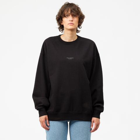 Acne Studios Femke Sweatshirt in Black - Notre