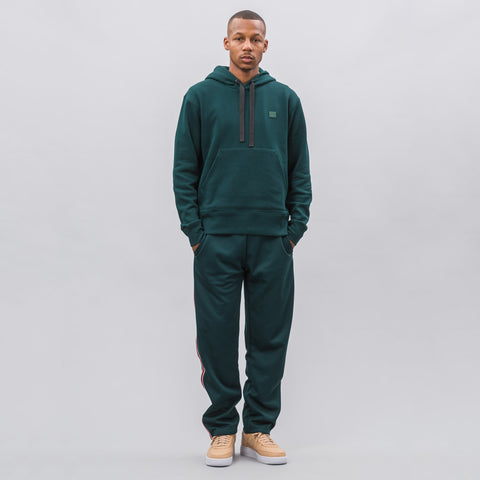 Acne Studios Ferris Face Sweatshirt in Bottle Green - Notre